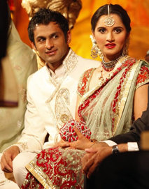 One of the most glamorous weddings in the world of sports sania