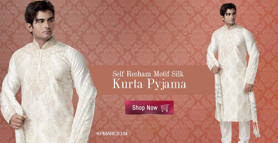 Elite look kurta pyjama