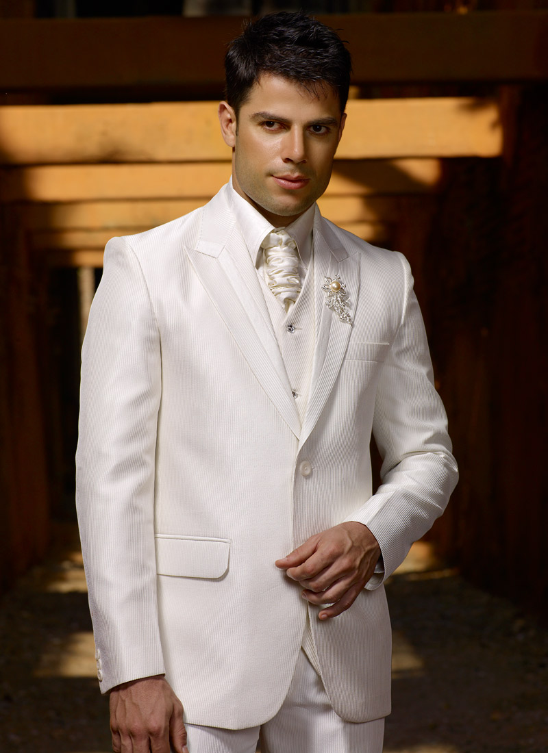 Cream Wedding Suits For Men Men Cream Suits Homeindia
