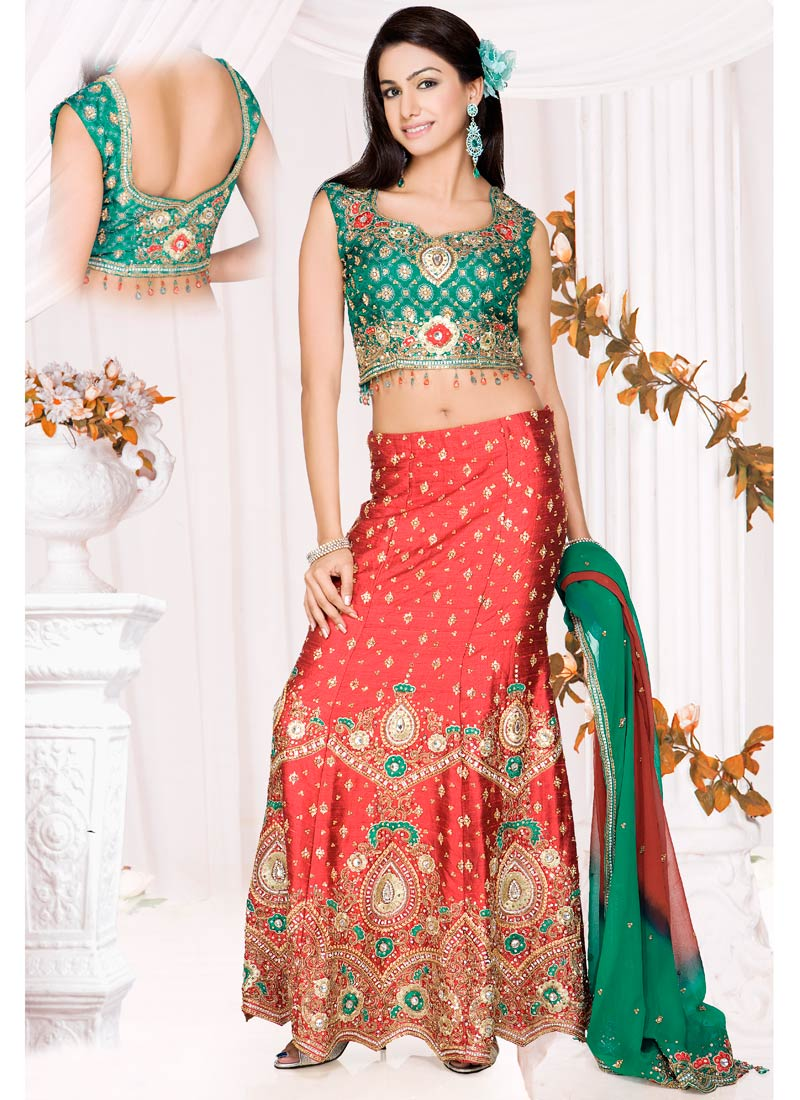 Indian Party Wear : Indian Lehenga