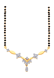Beautiful Stones Adorned Mangalsutra