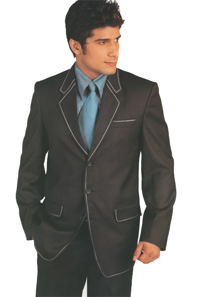 Dark Grey Designer Suit